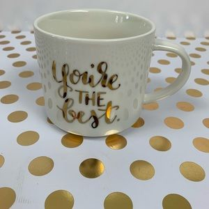Threshold Kitchen - Threshold You're THE Best Cream Porcelain Mug